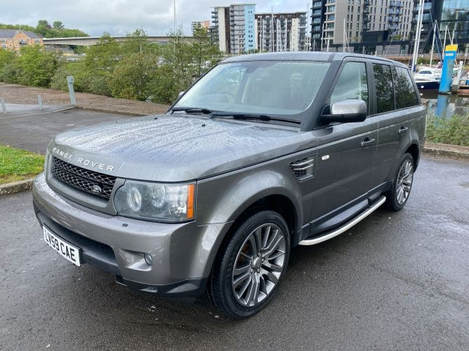 Used LAND ROVER RANGE ROVER SPORT in Cardiff And Penarth for sale