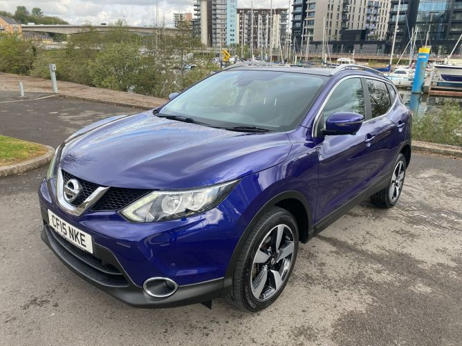Used NISSAN QASHQAI in Cardiff And Penarth for sale